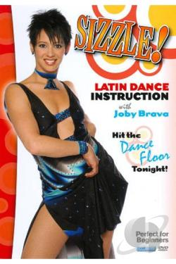 Sizzle!: Latin Dance Instruction DVD Cover Art