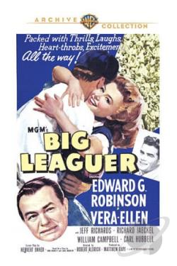 Big Leaguer DVD Cover Art