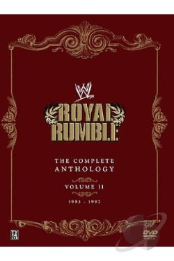 WWE - Royal Rumble Anthology: Vol. 2 DVD Cover Art