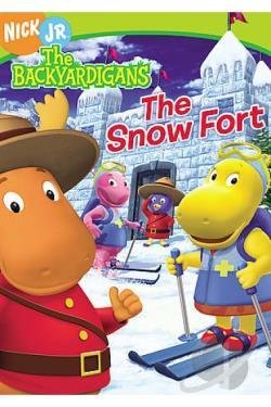 Backyardigans - The Snow Fort/ Nick Jr. Favorites - Holiday DVD Cover Art
