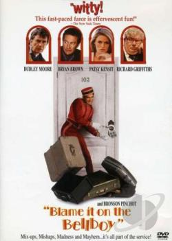 Blame It on the Bellboy DVD Cover Art