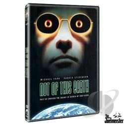 Not of This Earth DVD Cover Art