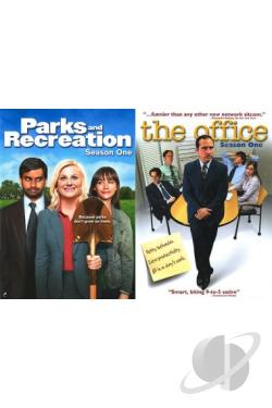Office: Season One/Parks and Recreation: Season One DVD Cover Art