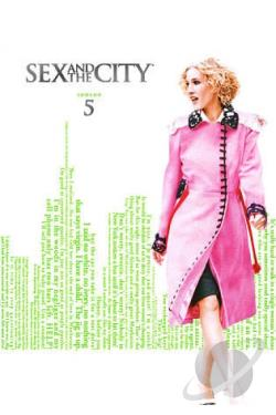 Sex and the City - The Complete Fifth Season DVD Cover Art