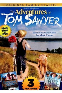 Adventures of Tom Sawyer DVD Cover Art