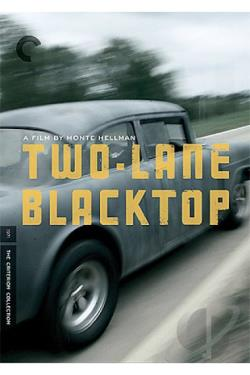 Two-Lane Blacktop DVD Cover Art