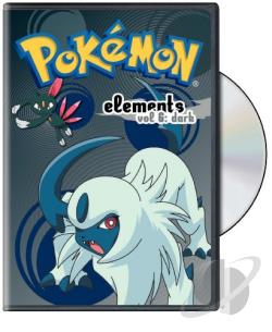 Pokemon Elements, Vol. 6: Dark DVD Cover Art