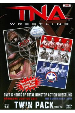 TNA Wrestling: Hardcore Justice 2011/No Surrender 2011 DVD Cover Art
