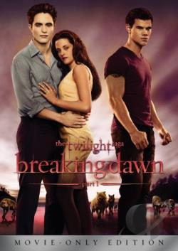 Twilight Saga: Breaking Dawn - Part 1 DVD Cover Art