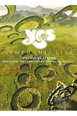 Yes - Symphonic Live In Amsterdam DVD Cover Art