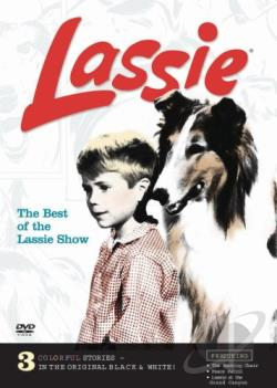 Lassie - Best Of The Lassie Show DVD Cover Art