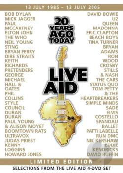 Live Aid - 20 Years Ago Today - The Story of Live Aid DVD Cover Art