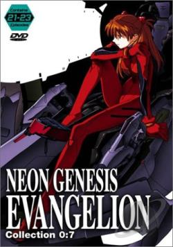 Neon Genesis Evangelion - Collection 7: Episodes 21-23 DVD Cover Art