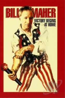 Bill Maher - Victory Begins At Home DVD Cover Art
