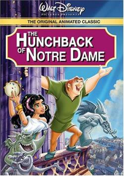 Hunchback of Notre Dame DVD Cover Art