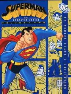 Superman: The Animated Series - Vol. 2 DVD Cover Art