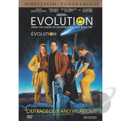 Evolution DVD Cover Art