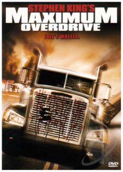 Maximum Overdrive DVD Cover Art