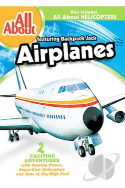 All About - All About Airplanes/ All About Helicopters DVD Cover Art