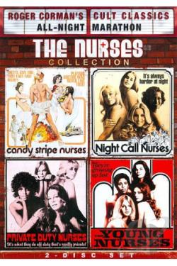 Roger Corman Cult Classics All-Night Marathon: The Nurses Collection DVD Cover Art