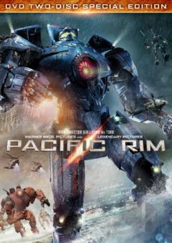 Pacific Rim DVD Cover Art
