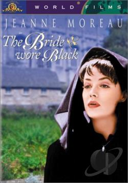 Bride Wore Black DVD Cover Art