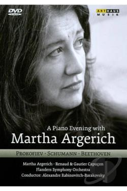 Martina Argerich - A Piano Evening With Martina Argerich DVD Cover Art