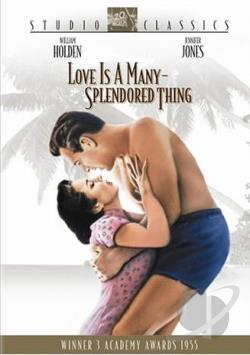 Love is a Many Splendored Thing DVD Cover Art