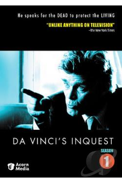 Da Vinci's Inquest - Season 1 DVD Cover Art
