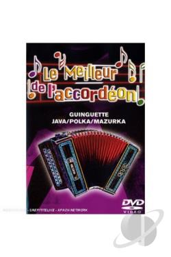 Michel Pruvot: Le Meilleur de l'Accordeon, Vol. 3: Guinguette DVD Cover Art