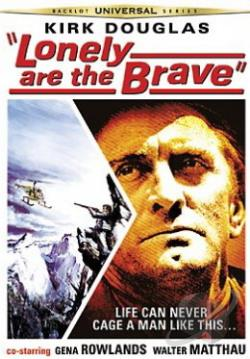 Lonely Are the Brave DVD Cover Art