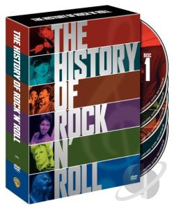 History of Rock 'N' Roll, The - Boxed Set DVD Cover Art