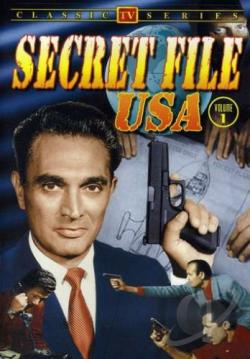 Secret File U.S.A. - TV Classics DVD Cover Art