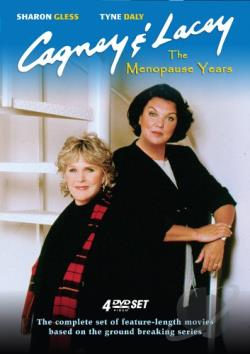 Cagney & Lacey: The Menopause Years DVD Cover Art