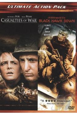 Casualties of War/Black Hawk Down DVD Cover Art