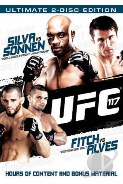 UFC 117: Silva vs. Sonnen DVD Cover Art