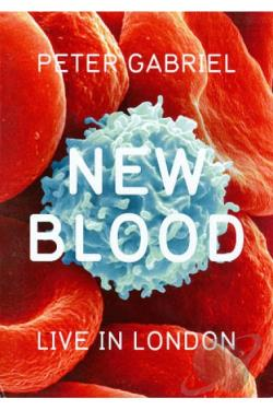 Peter Gabriel: New Blood - Live in London DVD Cover Art