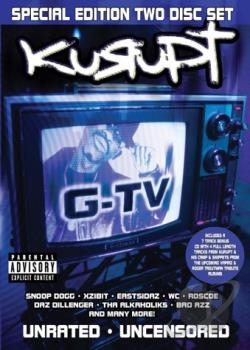 G-TV DVD Cover Art