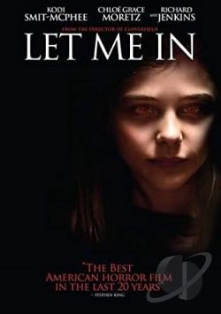 Let Me In DVD Cover Art