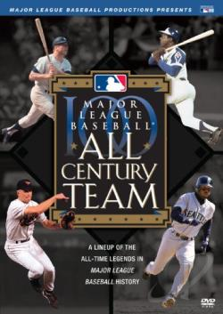 Major League Baseball - All Century Team DVD Cover Art