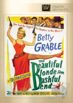 Beautiful Blonde from Bashful Bend DVD Cover Art