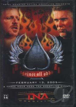 TNA Wrestling - Against All Odds 2005 DVD Cover Art