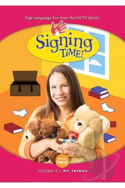Signing Time! Series Two Vol. 9 - My Things DVD Cover Art