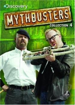 MythBusters - Collection 4 DVD Cover Art