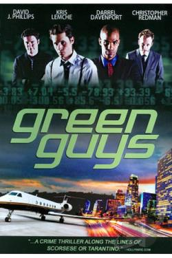 Green Guys DVD Cover Art