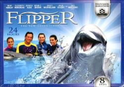 Flipper: The New Adventures - TV Marathon DVD Cover Art