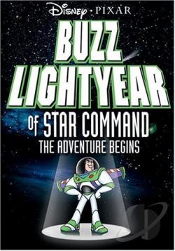 Buzz Lightyear of Star Command: The Adventure Begins DVD Cover Art