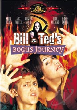 Bill & Ted's Bogus Journey DVD Cover Art