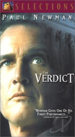 Verdict VHS Cover Art