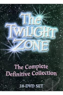 Twilight Zone - The Complete Definitive Collection DVD Cover Art